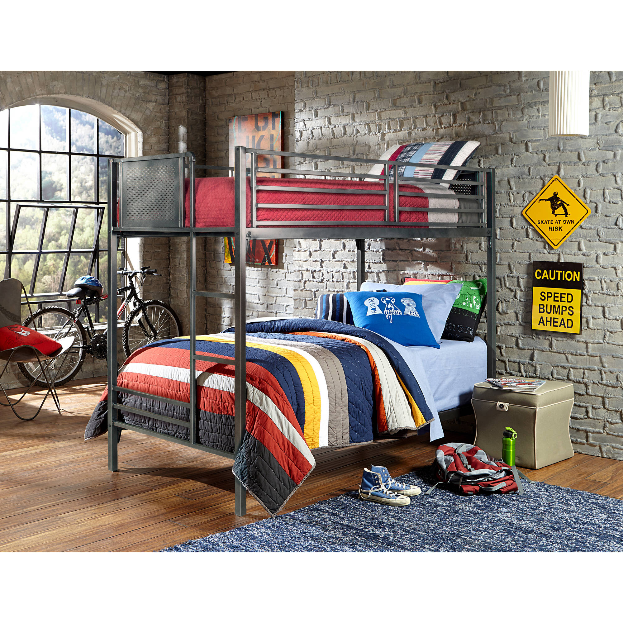Hillsdale Furniture Urban Quarters Twin/Twin Bunk Bed
