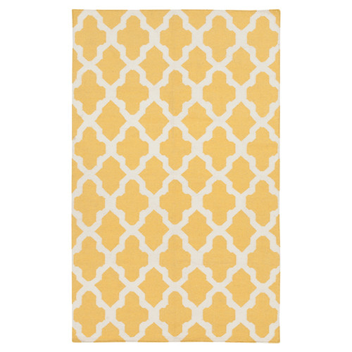 Artistic Weavers York Yellow Geometric Olivia Area Rug