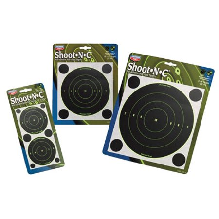 0.25 Bow - Birchwood Casey Shoot-N-C 3 inch Taget Bull 12 Sheet Pack