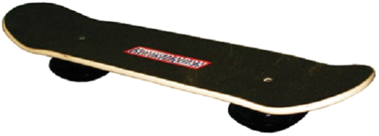 Fitter First Extreme Sports Board Rock Level Rocking Balance Board Trainer by
