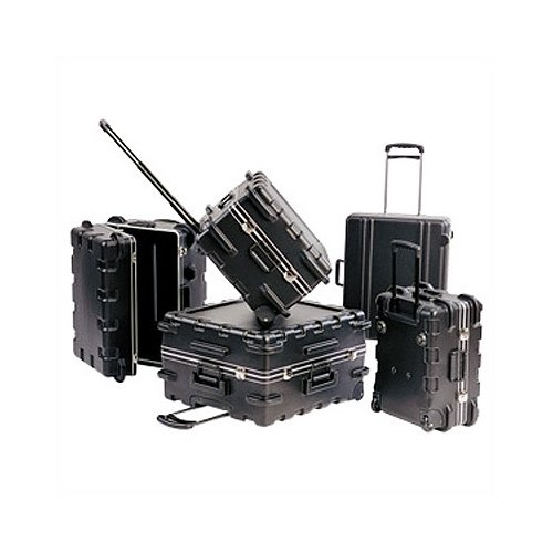 SKB Cases PH Series: Pull Handle Case:  9 1/8'' H x 20 1/2'' W x 13 7/8'' D (outside)