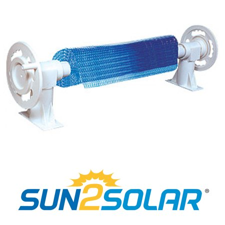 Sun2Solar Above Ground Solar Cover Reel System For Pools Up To 21'