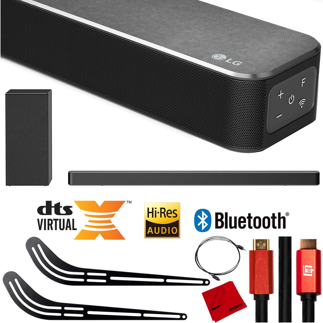 LG SN6Y 3.1 Ch High Res Audio Sound Bar With DTS Virtual:X