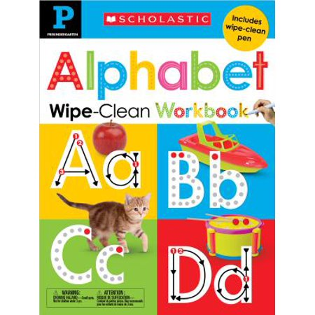 Wipe-Clean Workbook: Pre-K Alphabet (Scholastic Early Learners)](Halloween Alphabet Books)