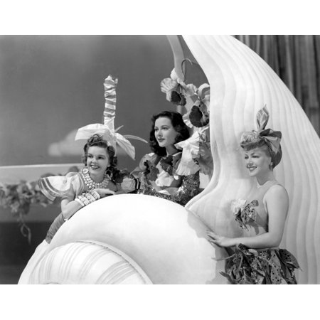 Ziegfeld Girl Judy Garland Hedy Lamarr Lana Turner 1941 Photo Print