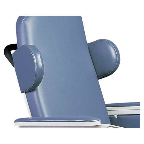 Winco Manufacturing Three Position Drop Arm Convalescent Recliner without Tray