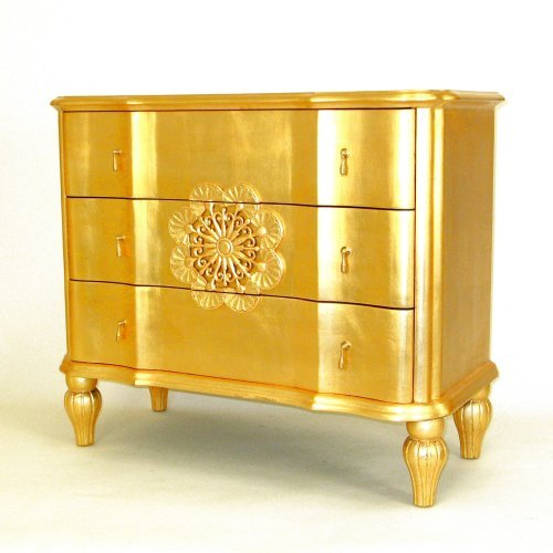 Wayborn Venice 3 Drawer Chest - Gold