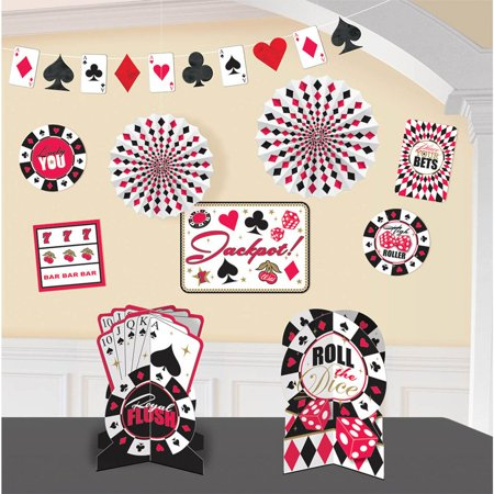 Casino Decorating Kit (Each) - Party Supplies - Casino Party Theme