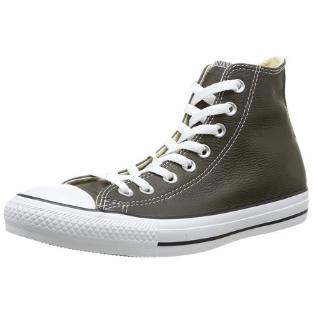 Chuck Taylor Leather High Top Sneaker Pineneedle Green 5.5 M US Men / 7.5 M  US Women, leather By Converse - Walmart.com