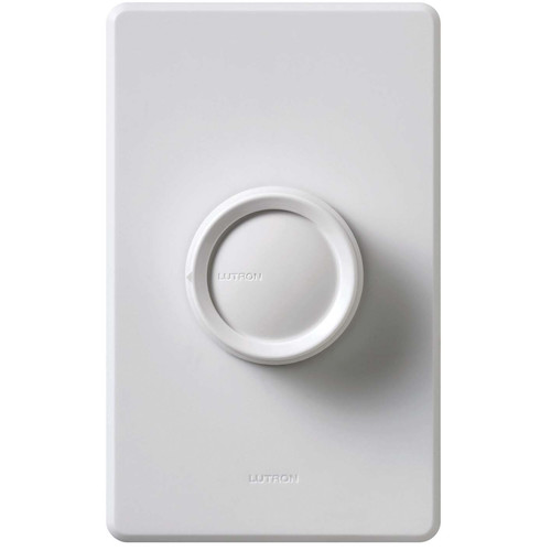 Lutron 3 Way 600W Rotary Push On and Off Dimmer by Lutron