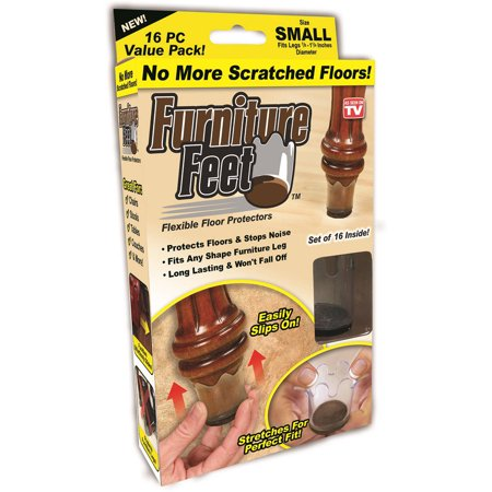As Seen On Tv Furniture Feet  Small
