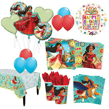 The Ultimate 8 Guest 53pc Princess Elena of Avalor Birthday Party Supplies