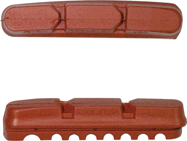 Kool-Stop V2 Replacement Insert Pads Salmon Compound