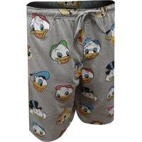 Disney Men's Disney's DuckTales Character Favorites Long Sleep Shorts