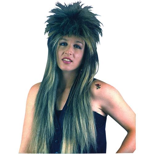 80's Rocker Adult Halloween Wig Accessory