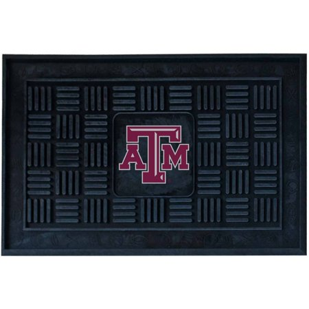 Texas A&M University Medallion Door - Texas A&m Football Rug