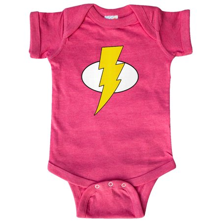 Superhero Baby Lightening Bolt Infant Creeper](Baby Super Hero)