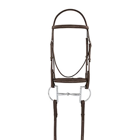 (Camelot Fancy Stitched Raised Padded Bridle Oversi)