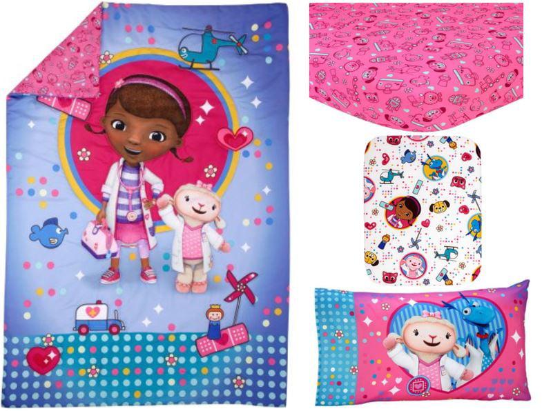Disney Doc McStuffins Toy Doc 4-Piece Toddler Bedding Set by Crown Crafts Infant Products, Inc.