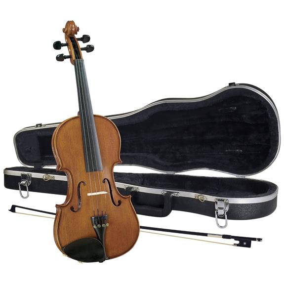 Cremona SV188 Premier Student Violin Outfit 4 4 Size by CREMONA