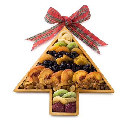 Happy Holidays, Merry Christmas Deluxe Assortment of Dried Fruit, in ...