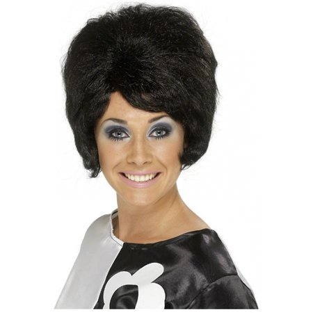 Bee Costume Accessories Adults (60's Beehive Wig Adult Costume Accessory)