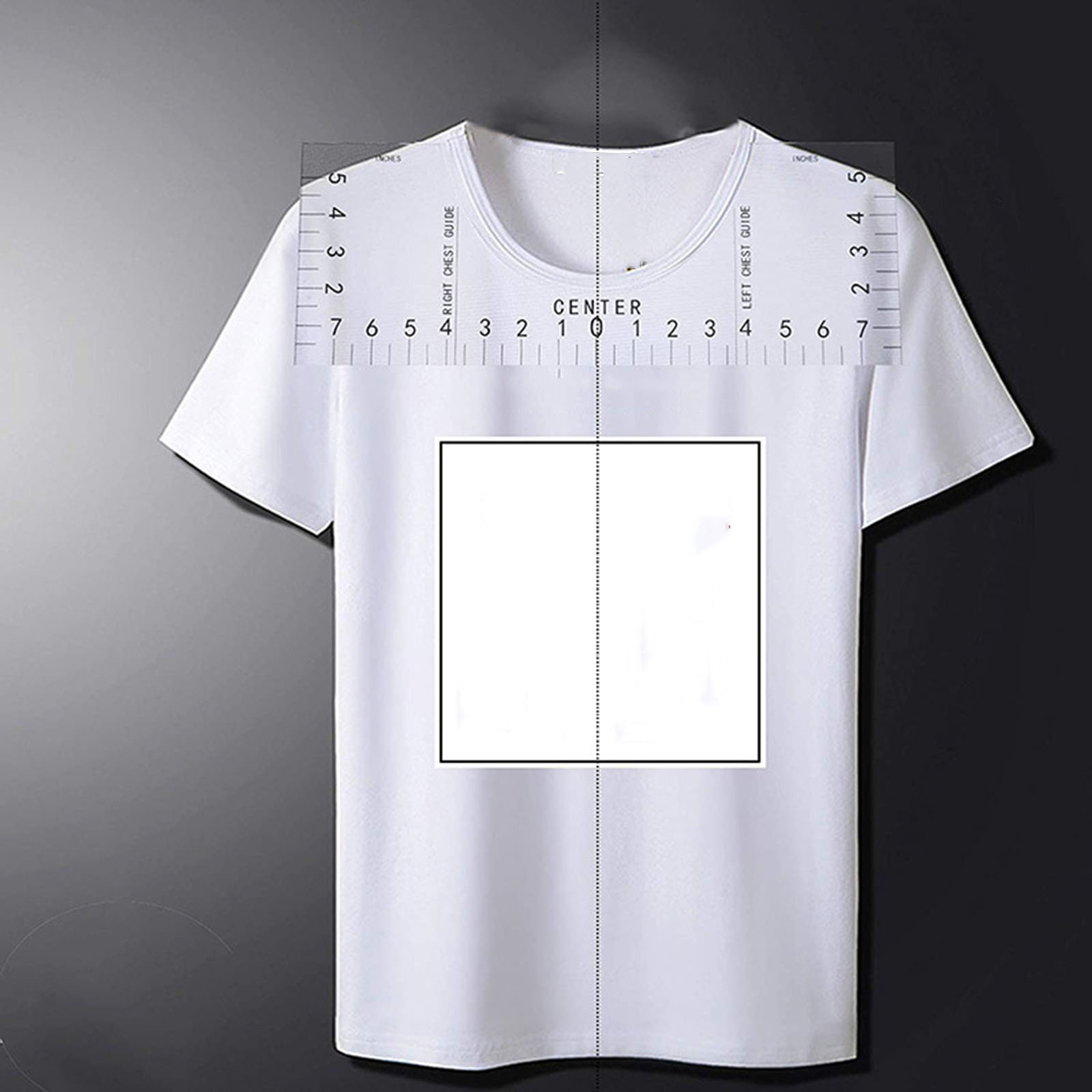 N/ählineal Set T-Shirt Lineal Guide Vinyl T-Shirt Lineal Guide Sublimation Designs Auf T-Shirt Vinyl Lineal Guide Gr/ö/ßentabelle T-Shirt Lineal klein// 10 6 Zoll