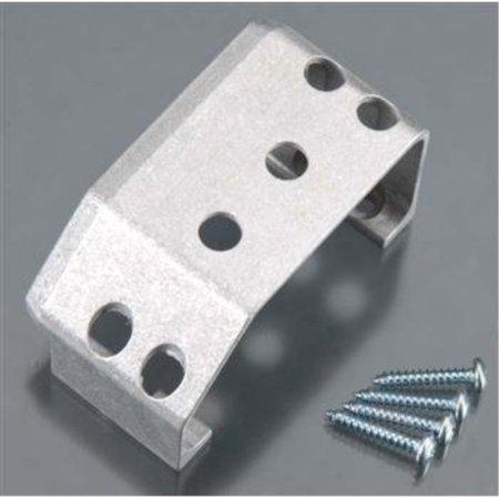 Aluminum Servo Guard - duratrax servo guard alum silver e/t-maxx