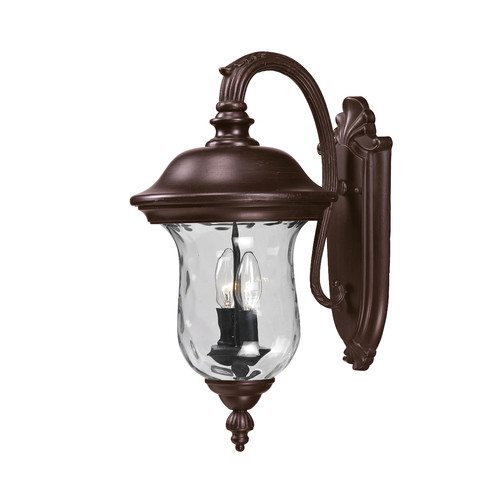 Z-Lite Armstrong Outdoor Wall Light in Bronze
