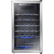 Insignia 3.2 Cu. Ft. 29-Bottle Freestanding Wine Cooler (Ns-Wc29ss9) - Stainless Steel -