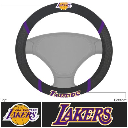 - NBA Los Angeles Lakers Steering Wheel Cover Automotive Accessory