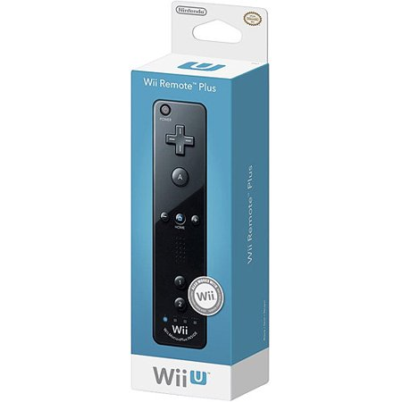 Nintendo Wii Remote Plus, Black (Wii)
