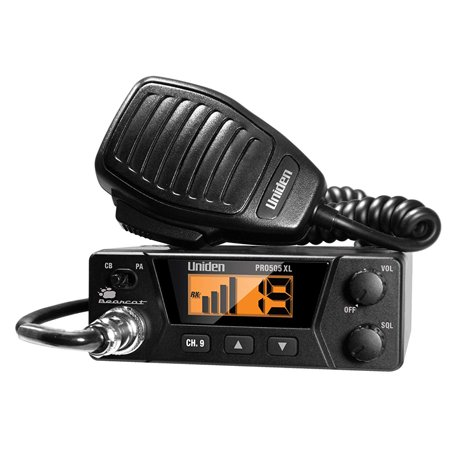 Uniden 40 Channel Compact Mobile CB Radio