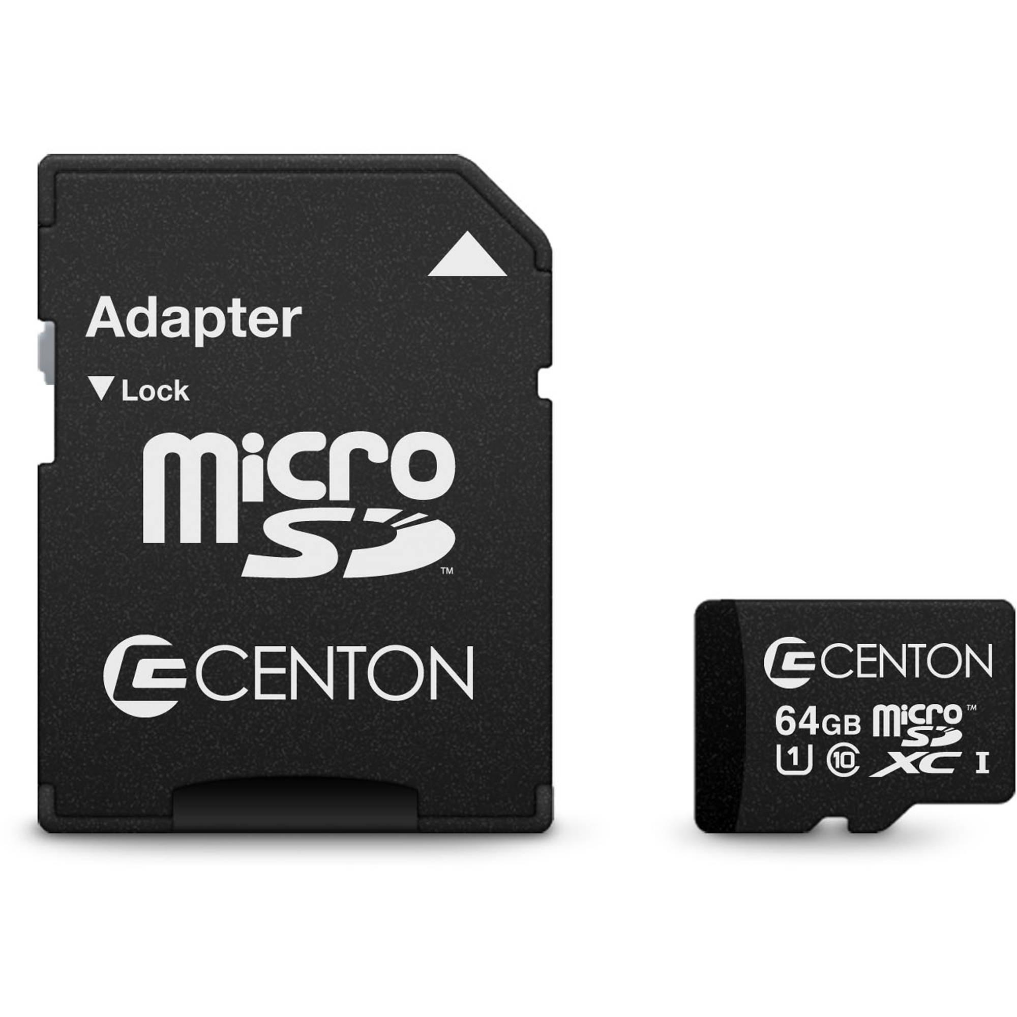 Centon 64GB Class 10 UHS-I microSDXC Card