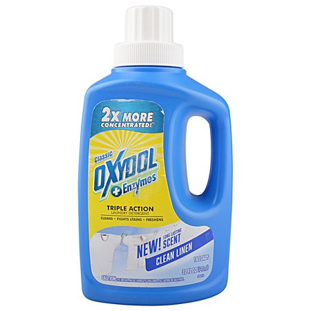 Oxydol And Enzymes Triple Action Laundry Detergent Clean Linen Scent 32 Fl Oz