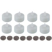 SE FL3408 LED Tea Light Candles (Pack of 8)