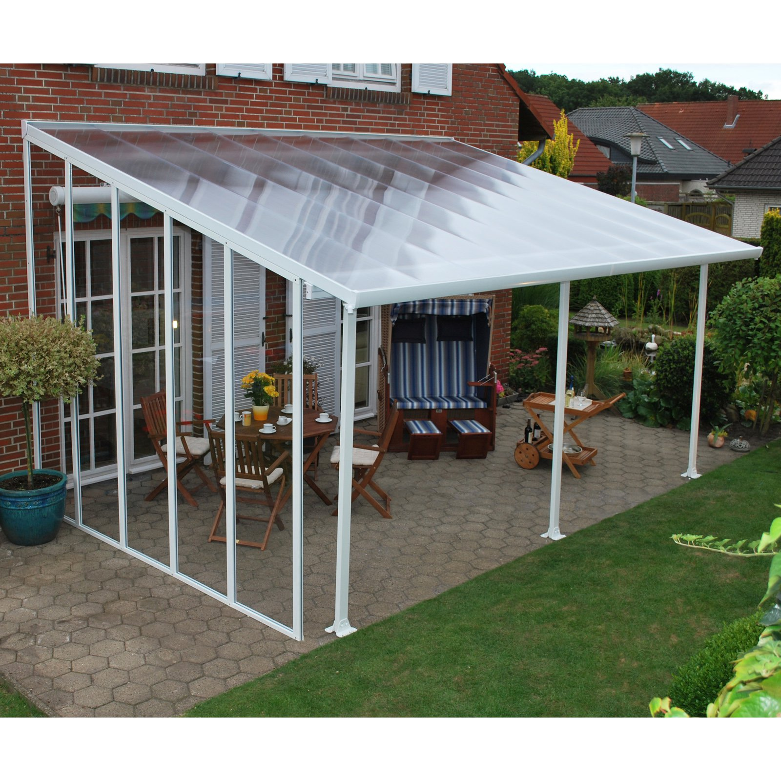 Palram Feria Patio Cover 10 Ft. Sidewall Kit