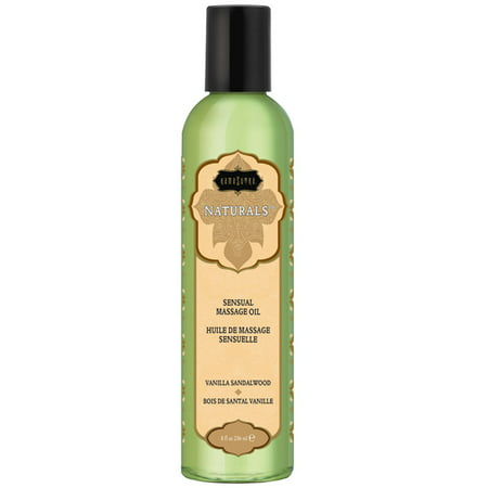 Kama Sutra Naturals Massage Oil - Vanilla Sandlewood (Kama Sutra Massage Oil Of Love)