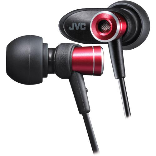 JVC Micro-HD In-Ear Headphones, Red