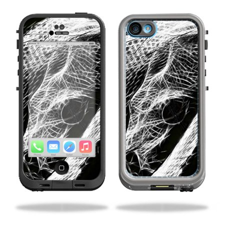 Mightyskins Protective Vinyl Skin Decal Cover for LifeProof iPhone 5C Case fre Case wrap sticker skins Snake Bite