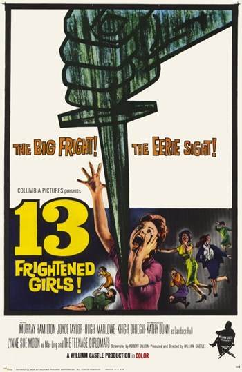 13 Frightened Girls Movie Poster (11 x 17) by Pop Culture Graphics