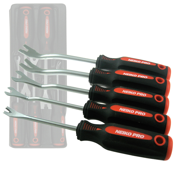 5Pc Trim Panel Removal Tool Set U Square & V Notch