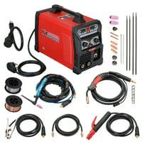 MTS-185 185 Amp MIG/TIG-Torch/Stick Arc Combo Welder, Weld Aluminum 110/230V Dual Voltage Welding