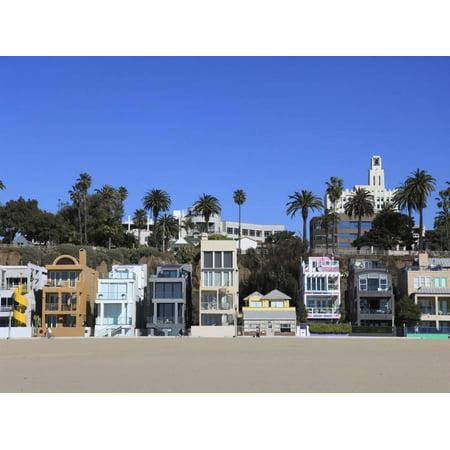 Beach Houses Santa Monica Los Angeles California United States Of America