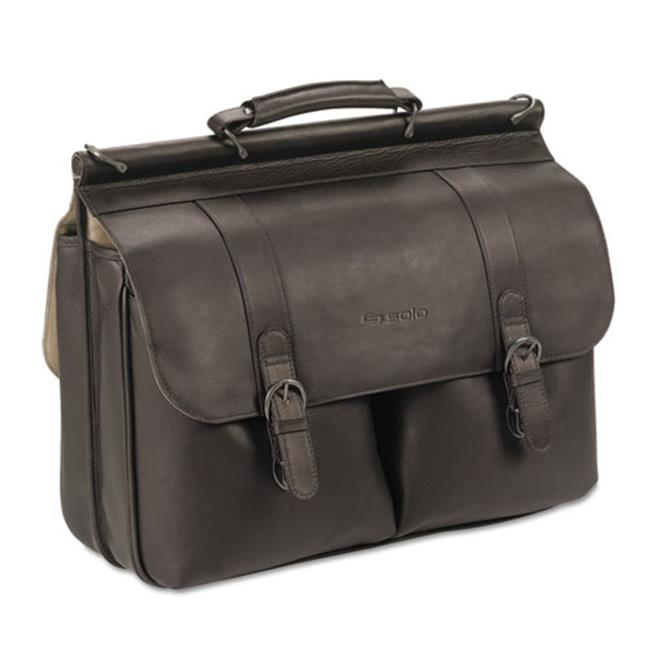 United States Luggage D5353 Executive Leather Briefcase - Espresso, 16 inch