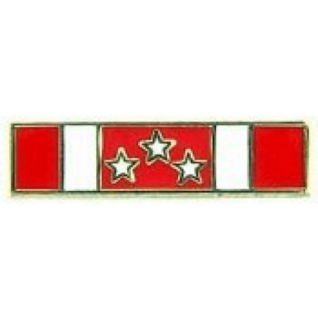 United States Armed Forces Mini Award Ribbon Pin - Philippine Defense