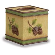 Pine Bluff Tissue Box Cover