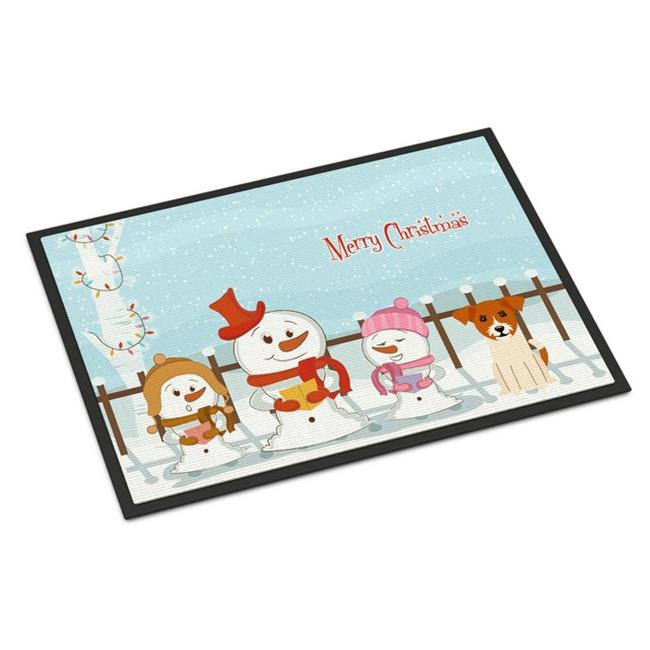 Carolines Treasures BB2406SN Merry Christmas Carolers Bichon Frise Sticky Note Holder Large Multicolor