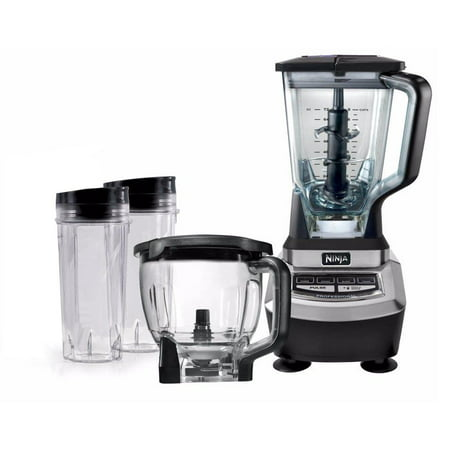 Ninja Supra Kitchen Blender System with Food Processor (Certified Refurbished) (Ninja Food Processors)