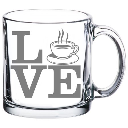 Gift Idea For All Tea & Coffee Drinkers - LOVE- 13 Oz (Best Gifts Whiskey Drinkers)